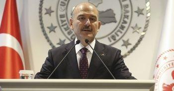 İçişleri Bakanı Süleyman Soylu, 'Yurt içindeki terörist sayısı 600'ün altına düştü'