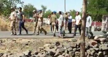 Mahalleliden kaçak kontrol ekibine: Ölüme razıyız, bu iş olmayacak