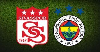 Sivasspor Fenerbahçe Canlı izle! Sivasspor Fenerbahçe şifresiz mi? Sivas FB Canlı skor