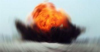 Sivil aracın geçişi sırasında patlama