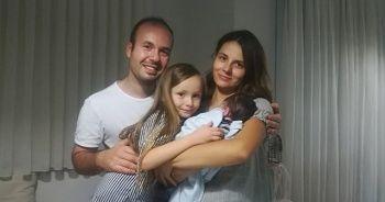 Taburcu olan Leo bebek İzmir'e döndü