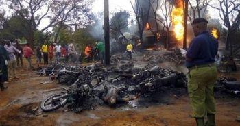 Tanzanya'da petrol tankeri patladı: 57 kişi öldü