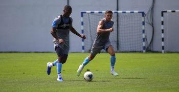 Trabzonspor'un yeni transferi ilk antrenmanına çıktı