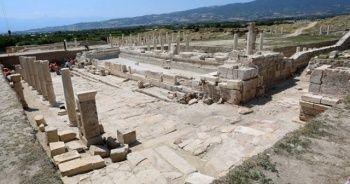 Tripolis Antik Kenti'nde 'anıtsal çeşme' bulundu