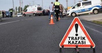 Van'da trafik kazası