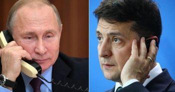 Zelenskiy, Putin ile Ukrayna'nın doğusundaki krizi görüştü