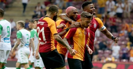 Aslantepe'de Galatasaray rüzgarı