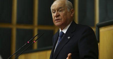 Bahçeli'den 'güvenlik koridoru' açıklaması