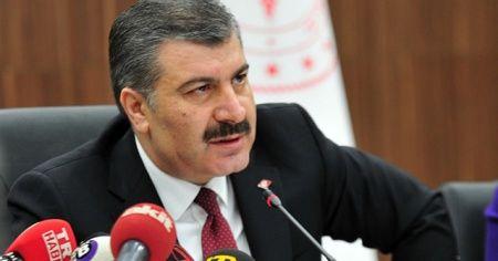 """Bakan Koca'dan """"sağlık çalışanına şiddet"""" açıklaması"""