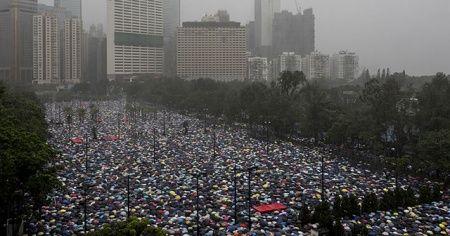 """Çin'den Güney Kore ve Japonya'ya çağrı: """"Hong Kong yönetimine destek verin"""""""