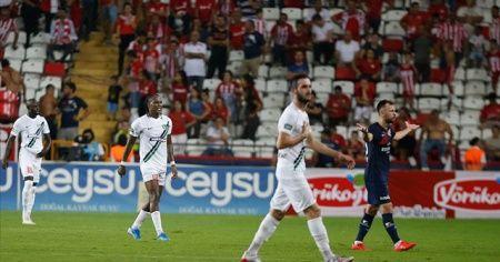 Denizlispor ikinci haftayı da 3 puanla kapattı