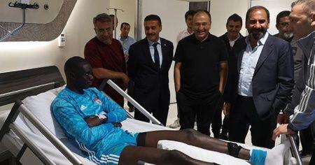 Dr. Balaban: Samassa'nın durumu gayet iyi