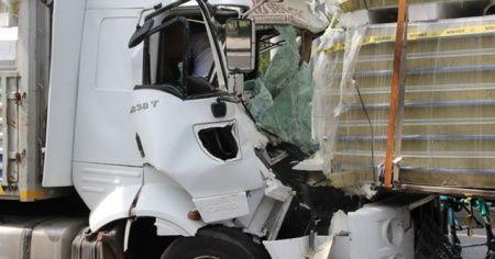 Eskişehir'de zincirleme kaza! 3'ü TIR 6 araç birbirine girdi