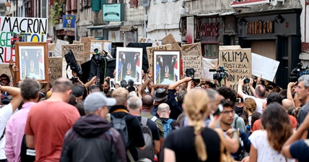 Fransa'daki G7 protestolarında 68 gözaltı