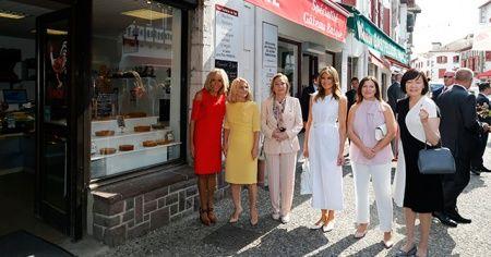 G7'nin sefasını First Lady'ler sürüyor