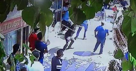 Gaziantep'te yabancı uyruklu iki grubun kavgası