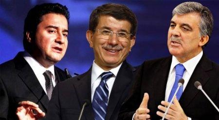 Gül, Babacan ve Davutoğlu'na davet yok