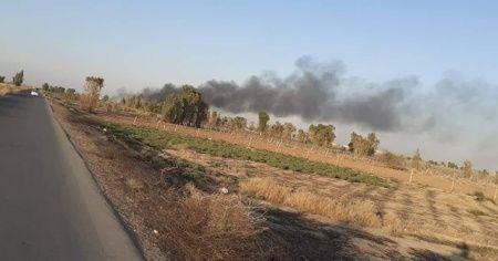 Irak'ta Haşdi Şabi cephaneliğinde patlama