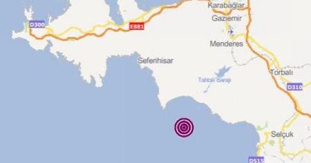 İzmir'de 5.1 şiddetinde deprem meydana geldi | Son depremler