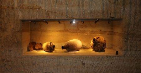 Kapadokya'da 2 bin yıllık anforalar sergileniyor