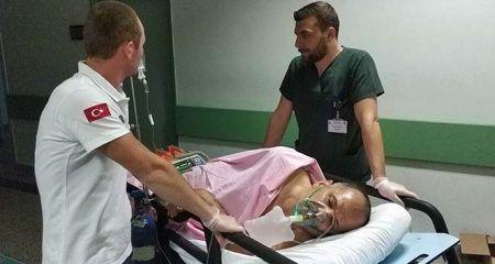 Kavgayı ayırmak isteyen emekli uzman çavuş bıçaklandı