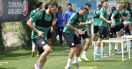 Konyaspor'da Galatasaray maçı hazırlıkları devam ediyor