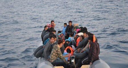 Kuşadası Körfezi'nde 109 göçmen yakalandı