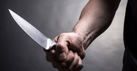 Lunaparkta bıçaklı kavga