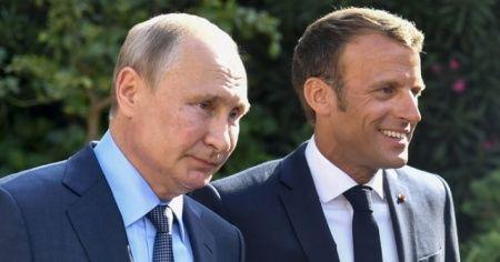 Macron ile Putin görüşmesinde gündem İdlib