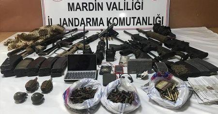 Mardin'de terör örgütüne 'Kılıç 150' darbesi devam ediyor