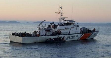 MSB açıkladı: 149 düzensiz göçmen kurtarıldı