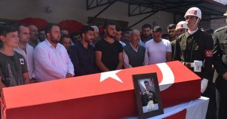 Şehit Uzman Onbaşı gözyaşları ile toprağa verildi