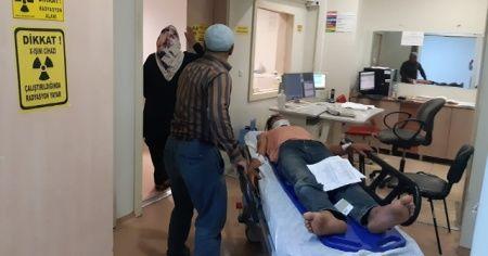 Siirt'te kayalıktan düşen kardeşler yaralandı