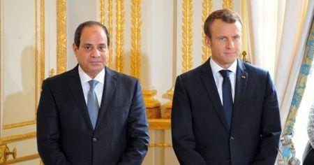 STK'lerden Macron'a 'Sisi'yi kınayın' çağrısı
