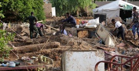 Sudan'da felaket: 62 ölü