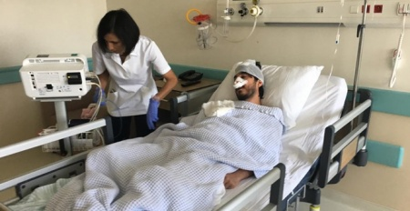 Sürücü belgesi için sağlık raporu alamayınca doktoru darp etti
