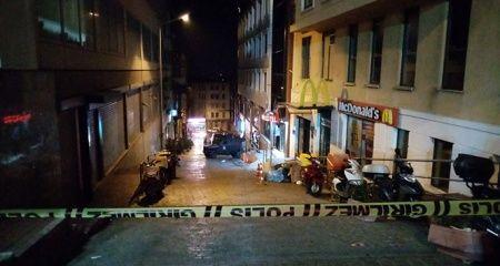 Taksim'de yürekleri ağza getiren patlama sesi!