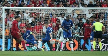 UEFA Süper Kupa Liverpool'un oldu