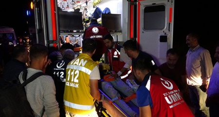 Van'daki kazada yaralı sayısı 43'e çıktı