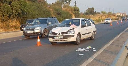 Yaya geçidine 50 metre kala aracın altında kalan kadın öldü
