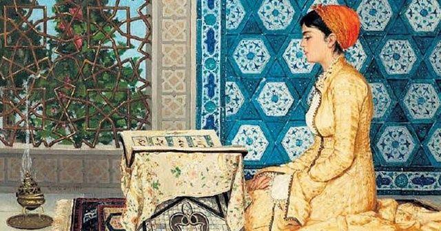 'Kur'an Okuyan Kız' tablosu rekor fiyata satıldı