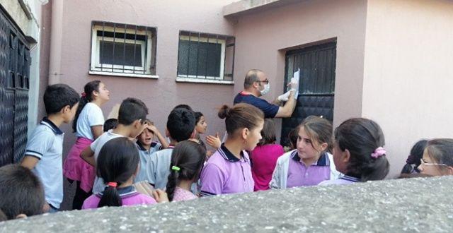 50'den fazla öğrenci hastaneye kaldırıldı