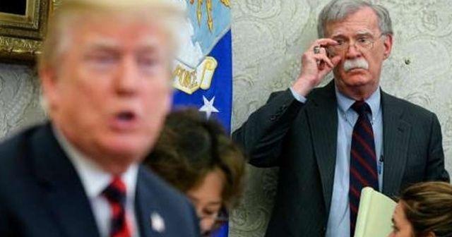 ABD basınında Bolton'un görevden alınmasıyla ilgili çeşitli iddialar yer aldı