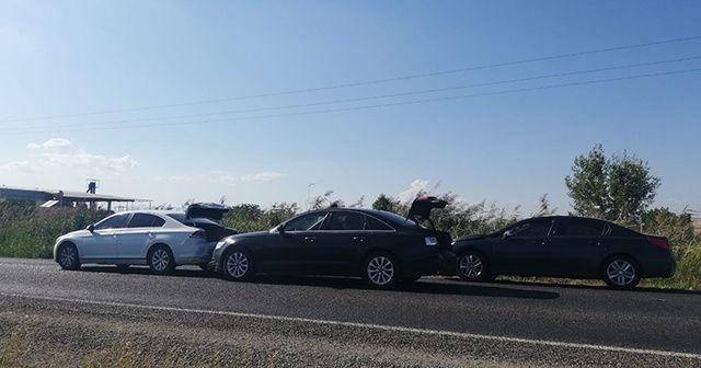 AK Parti konvoyunda kaza! 2 milletvekili yaralandı
