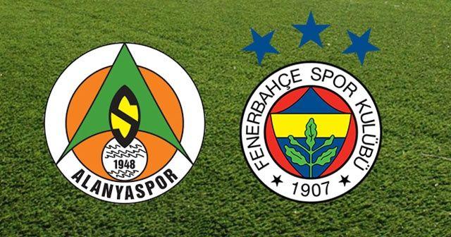 Alanyaspor- Fenerbahçe maçı 11'leri belli oldu