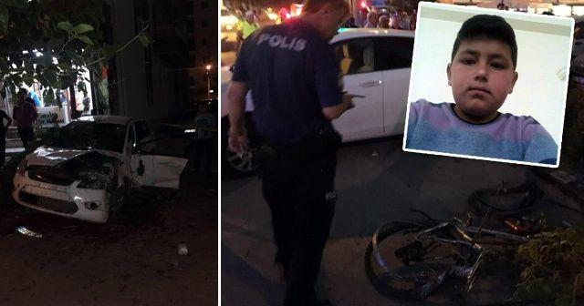 Alkollü sürücü bir çocuğun hayatını kaybettiği kazayı canlı yayınlamış