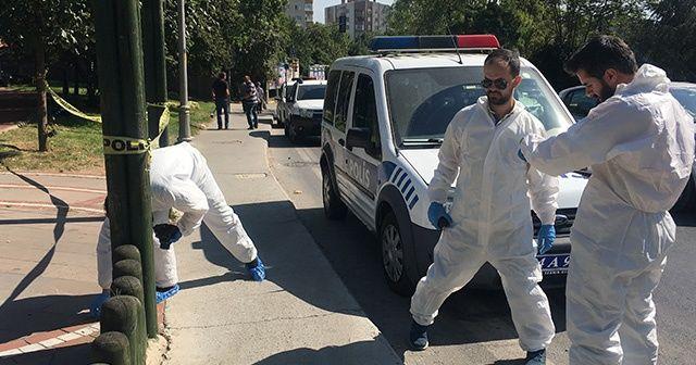 Ataşehir'de parkta silahlı saldırı