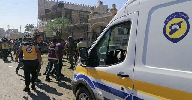Azez'de ikinci patlama oldu: 5 yaralı