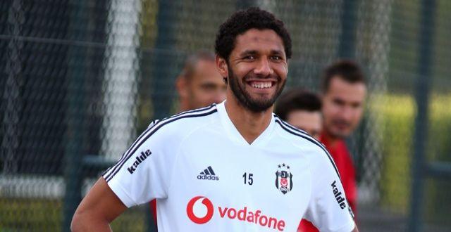 Beşiktaş'ta yeni transfer ilk idmanına çıktı
