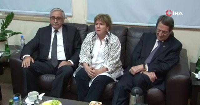 BM, Kıbrıs liderlerini bir araya getirdi